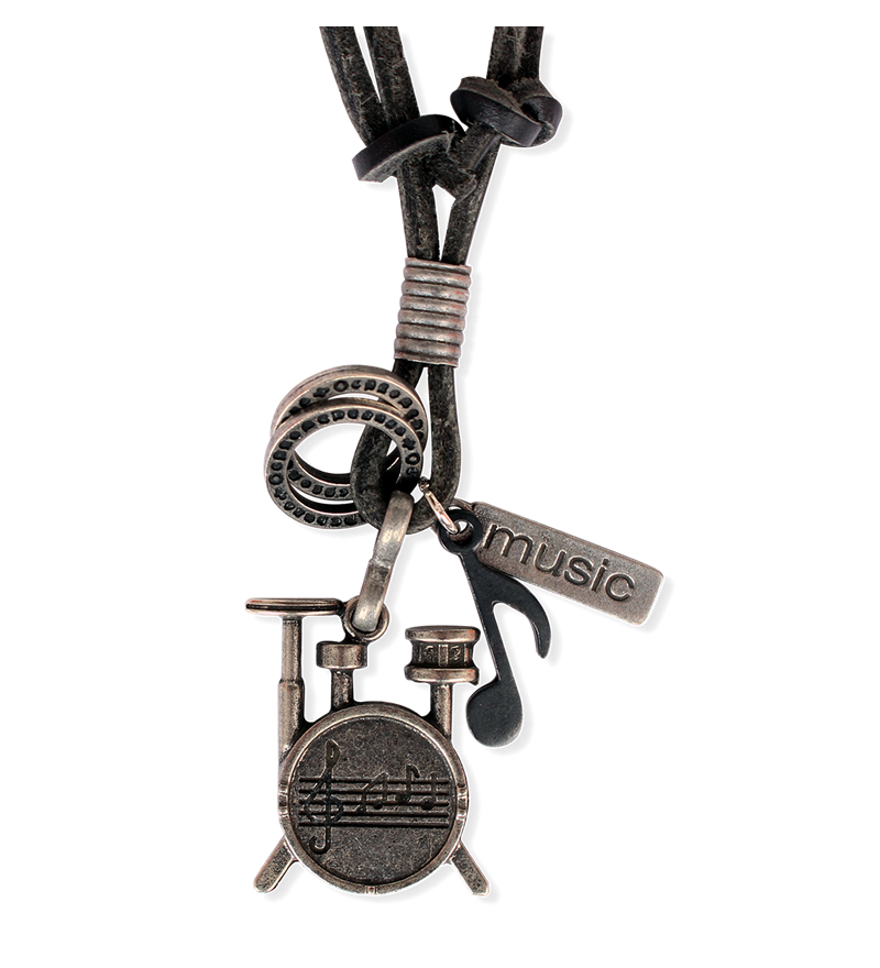 MUSIC MUSICAL INSTRUMENTS NECKLACE – DRUM