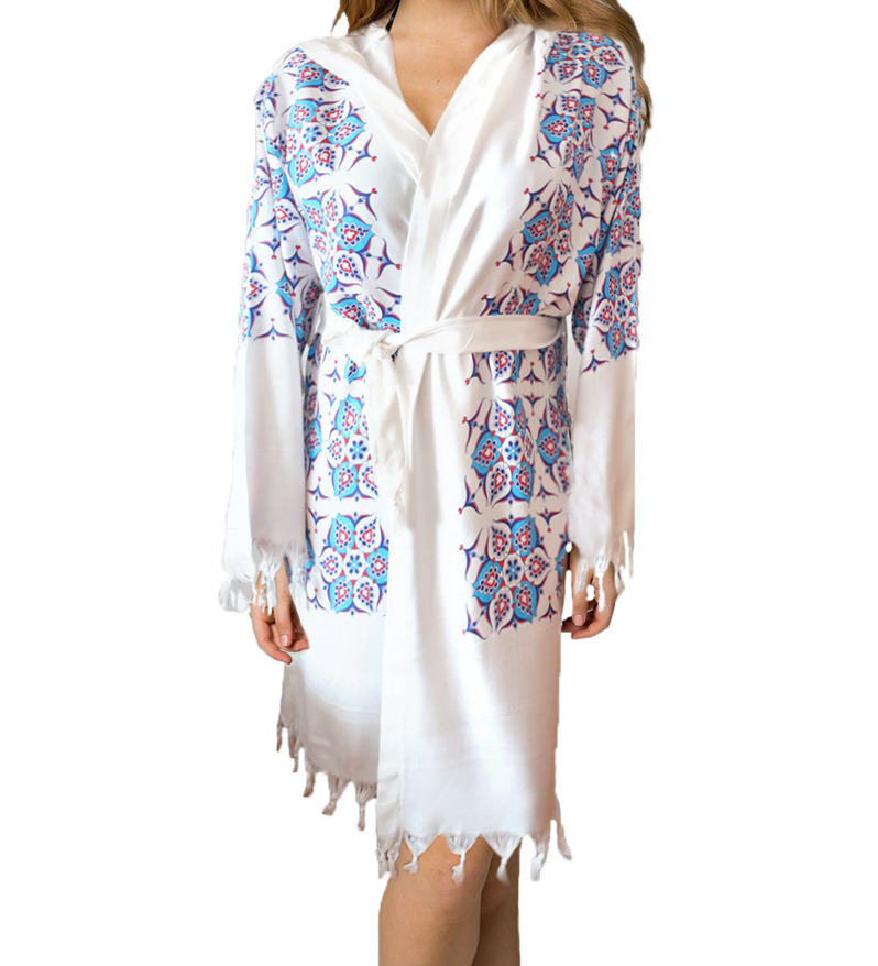 BATHROBE – Topkapi Pattern