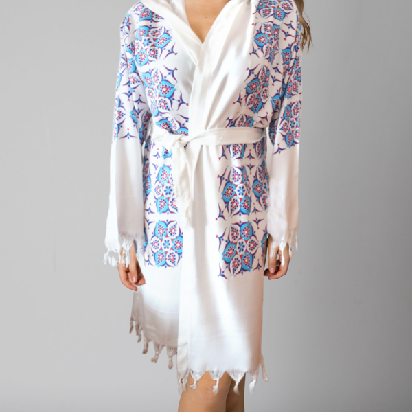 BATHROBE - Topkapi Pattern
